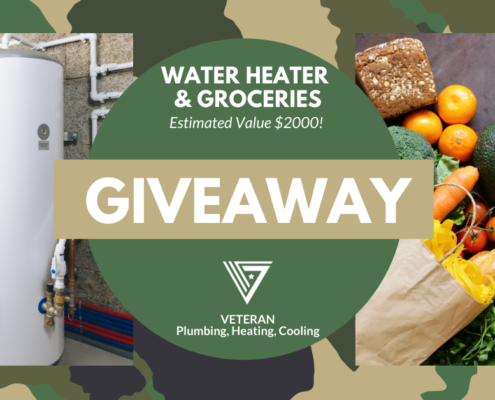 $2000 Water Heater & Groceries GIVEAWAY